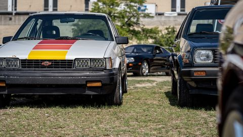 The international love affair for cars from the '80s and '90sfinally made its first official stop in Detroit.