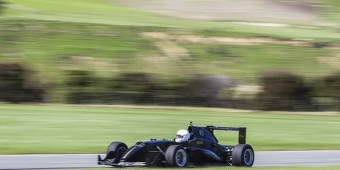 """As part of the two and a half day """"test drive,"""" Rodin Cars gives you time in a Formula 3 car."""