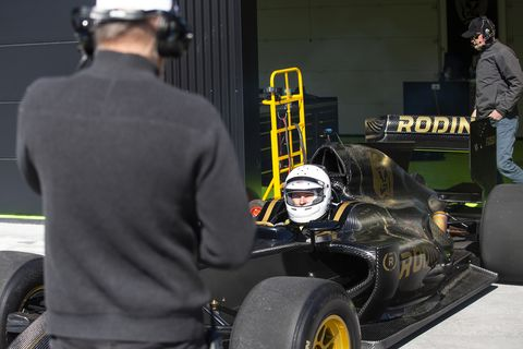The FZedgrabs your attention on the track, on displayor in the garage. When in the garage, head instructor Mark Williamsongives good advice.