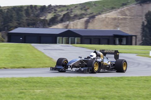 No, that's not a Formula 1 car—that's the Rodin Cars FZed, a track car that stands above all others.