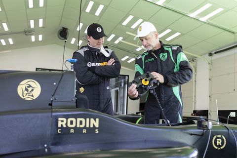 "As part of the two and a half day ""test drive,"" Rodin Cars gives you time in a Formula 3 car."