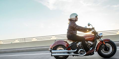 first ride indian scout 100th anniversary