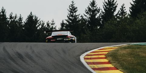 The Circuit de Spa-Francorchamps is as well known for its changing, challenging conditions as it is for its remarkable history. At the 2019 Spa 24 Hours, Porsches charged through a deluge to claim five of the top 10 spots.
