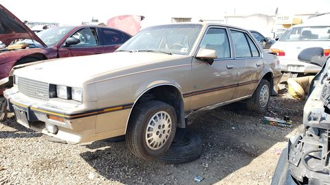 If you wanted a Chevy Cavalier with lots of luxury options in the middle 1980s, the Cimarron was for you!