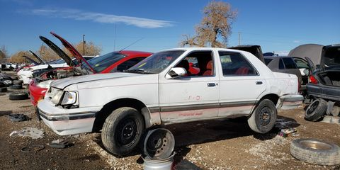 The Ford Tempo 4WD is incredibly rare, but its Mercury-badged sibling may be one of the rarest cars…<em>in the world</em>.