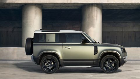 The Defender 90 will follow later in 2020.