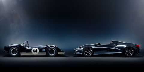 The Elva will be the lightest McLaren road car ever, according to the company.