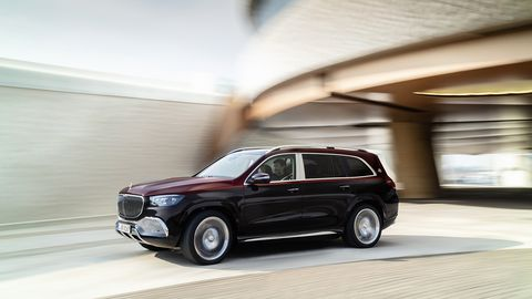 The Mercedes-Maybach GLS 600 also features Mercedes' latest E-Active Body Control, which helps the car anticipate any pitch, dive and roll and adjust the suspension accordingly.