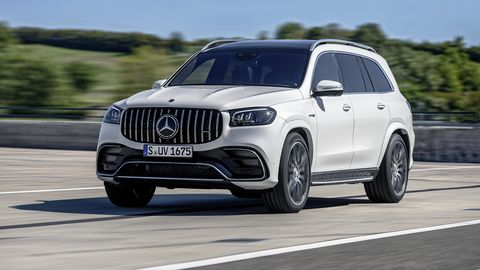 The 2021 Mercedes-AMG GLS 63 will go on sale by mid-2020.