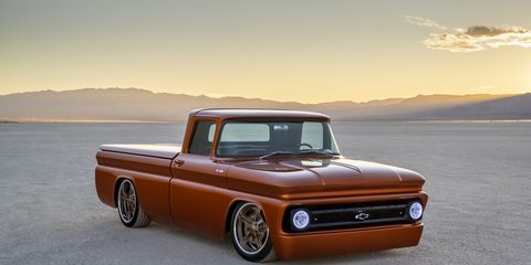 The all-electric 1962 Chevrolet C-10 pickup packs a cool crate engine under the hood that might give hope to those who want to electrify their classic cars.