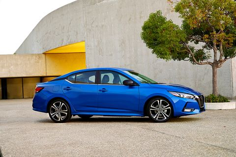 The redesigned 2020 Nissan Sentra gets an exterior design similar to the larger Altima.