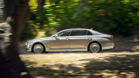 the 2020 genesis g90 will still be offered with a choice of a v6 or a v8