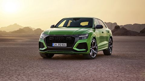 The Audi RS Q8 debuts at the Los Angeles Auto Show with 591 hp and a Nurburgring lap of 7 minutes, 42.2 seconds.