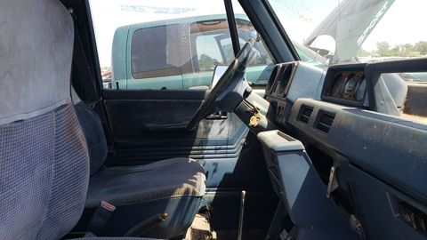 By 21st-century SUV standards, the Raider's interior would be considered intolerably primitive.