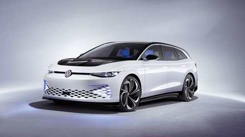 VW will put this wagon into production in 2021.