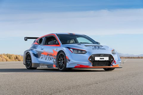 The Hyundai RM19 is expected to yield 0-60 mph performance under four seconds.