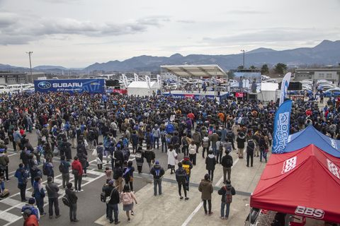 In spring 2019, fans of Subaru's STI division filled Japan's Fuji Speedway to celebrate the 31st birthday of the automaker's motorsport arm.