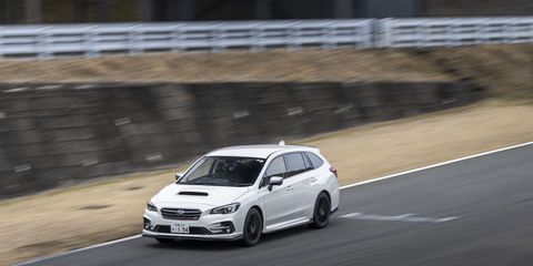The Subaru Levorg STI Sport: The perfect enthusiast wagon? Well, maybe not — it only comes with a CVT.