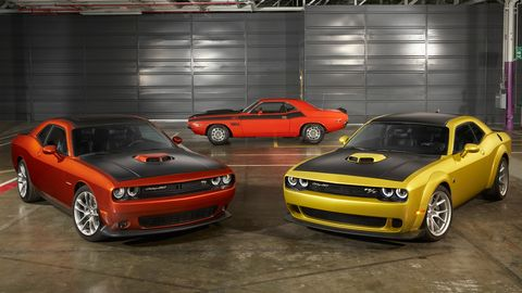 The 2020 Dodge Challenger 50th Anniversary Edition will be offered on GT RWD, R/T Shaker, R/T Scat Pack Shaker and R/T Scat Pack Shaker Widebody models.