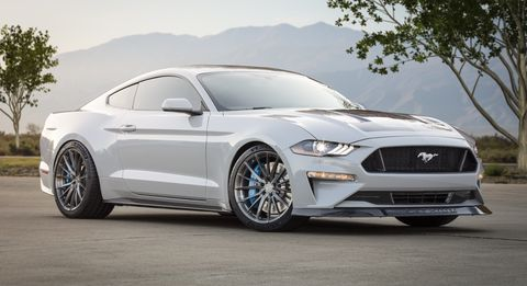 The Ford Mustang Lithium is a one-off all-electric pony car.
