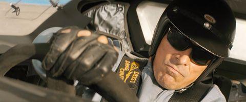 Christian Bale's Ken Miles