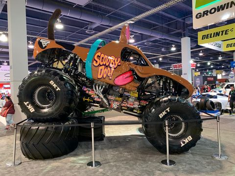 A profile of the Scooby-Doo monster truck that will run in the 2020 Monster Jam