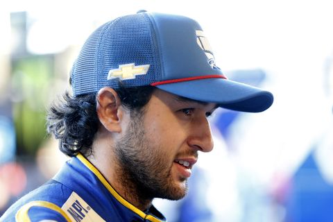 "<span id=""CT_Main_1_cache_lblCaption"">Chase Elliott, driver of the #9 NAPA Autocare Center Chevrolet, hangs out in the garage during practice for the Monster Energy NASCAR Cup Series Bluegreen Vacations 500 at ISM Raceway on November 08, 2019 in Avondale, Arizona.</span>"