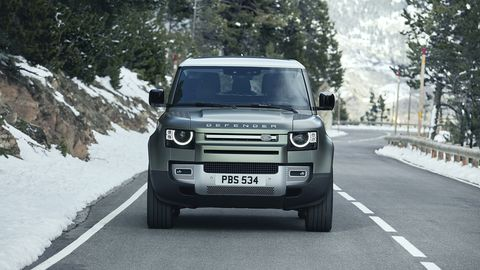 The Defender will be offered with a choice of two engines.