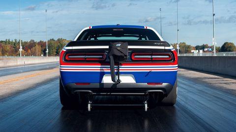 The 2020 Mopar Dodge Challenger Drag Pak is engineered for grassroots drag racers.
