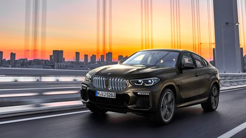 """<span style=""""font-size:11.0pt""""><span style=""""line-height:107%""""><span style=""""font-family:&quot;Calibri&quot;,sans-serif"""">The third-generation X6 is longer by an inch than the outgoing model and wider, with a slightly bigger wheelbase. </span></span></span>"""