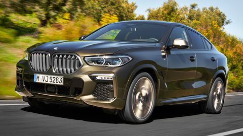 """<span style=""""font-size:11.0pt""""><span style=""""line-height:107%""""><span style=""""font-family:&quot;Calibri&quot;,sans-serif"""">The X6 sDrive40i and xDrive40i get a new version of BMW's workhorse, a 3.0-liter direct-injected, turbocharged inline-six making 335 hp and 330 lb-ft of torque. </span></span></span>"""
