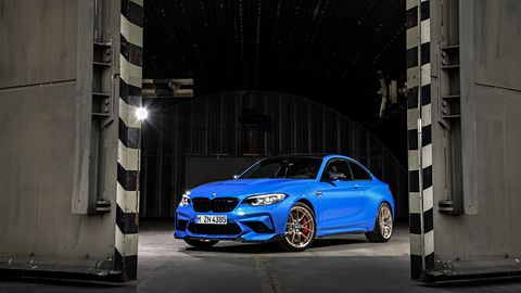 The BMW M2 CS can hit 60 mph from a standing start in only 3.8 seconds.