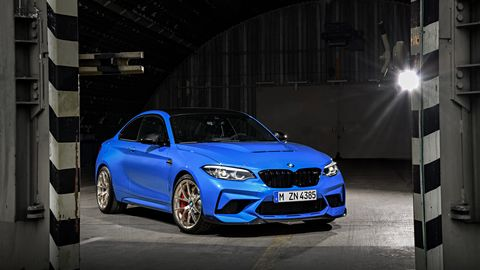 BMW will limit the production of the M2 CS to only 2,200 cars globally.
