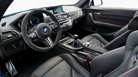 Land vehicle, Vehicle, Car, Steering wheel, Center console, Personal luxury car, Luxury vehicle, Gear shift, Bmw, Car seat,