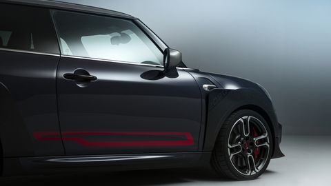 The Mini John Cooper Works GP will be limited to only 3,000 cars worldwide.