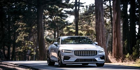 <span><span><span><span>Unlike most hybrids, it's impossible to get the Polestar 1's engine to fire in electric mode before the juice is drained—electric mode really means electric mode. </span></span></span></span>