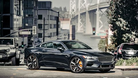 <span><span><span><span>The 1 is the first Polestar—and it's also likely the last with a combustion engine.</span></span></span></span> As is, it's an interesting blend between gasoline-powered luxury and futuristic electrification.