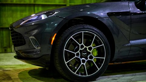 The Aston Martin DBX gets design cues from across the portfolio.