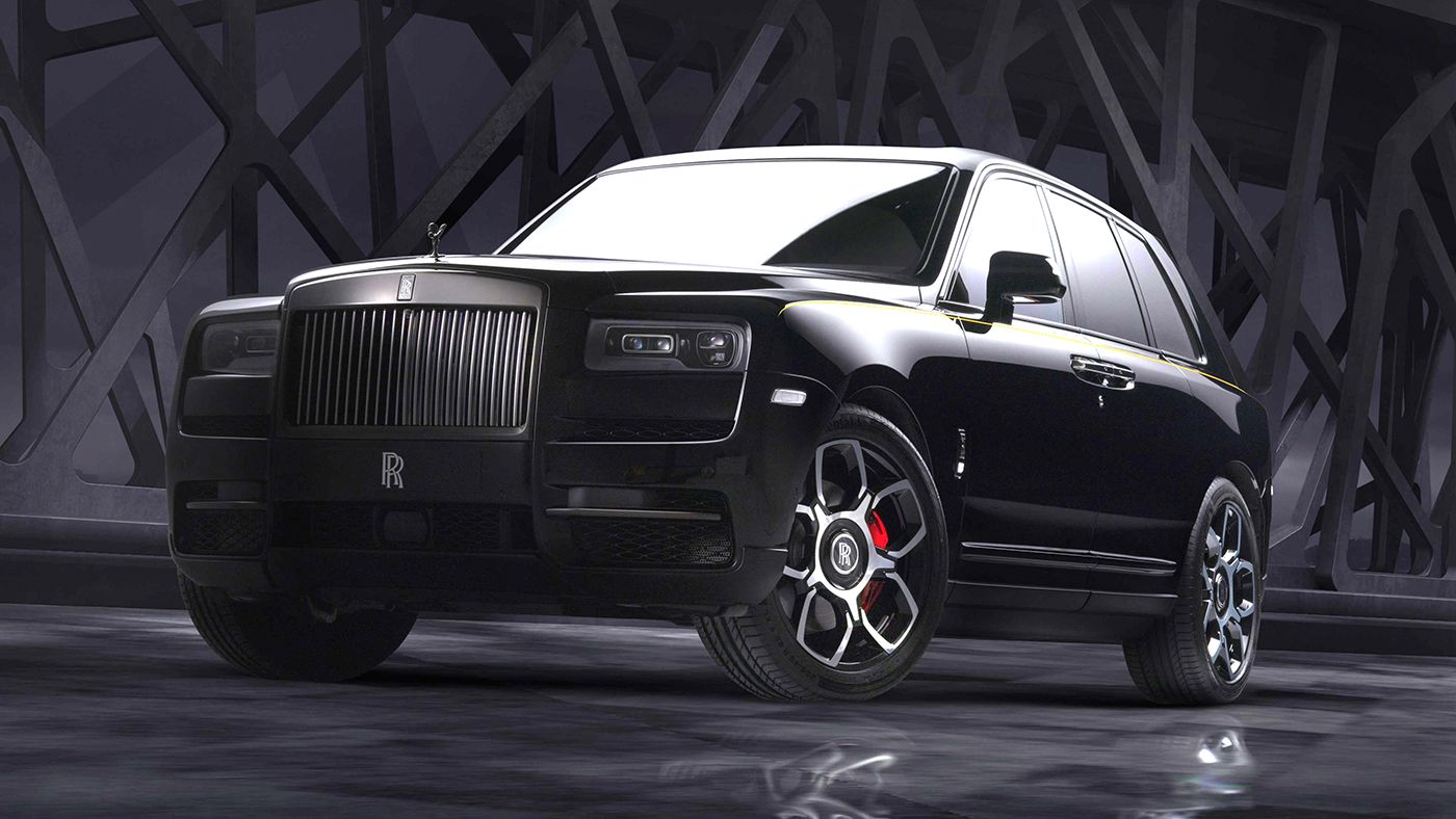 2020 Rolls Royce Cullinan Black Badge Photos And Specs Blacked Out Look For The Luxury Suv
