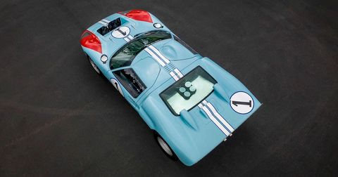 Given the value of authentic Ford GT40s — especially those with racing provenance — using one in the filming of a movie would be practically unthinkable.