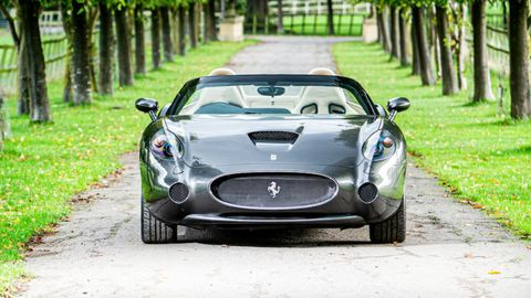 Zagato produced just six coupes and three cabrios to celebrate the250 GTZ Berlinetta of 1956.