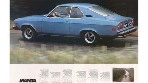 The Manta was the German Camaro.