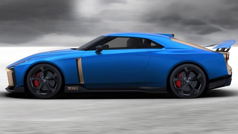 The Nissan GT-R50 by Italdesign will be on display at the Geneva auto show in March.