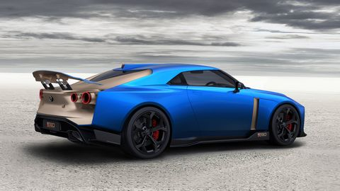 Deliveries of the Nissan GT-R50 by Italdesign start late next year.