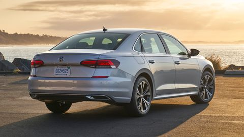 The 2020 Volkswagen Passat comes with a turbocharged I4.
