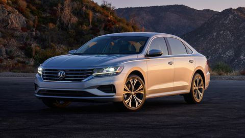 The 2020 Volkswagen Passat is offered in four trim levels.