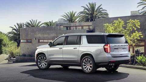 The2021 Chevy Suburban gains a new High Country trim at the top of the lineup.