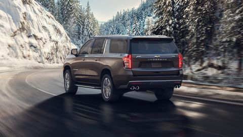 The2021 Chevy Suburban will offer a diesel engine.