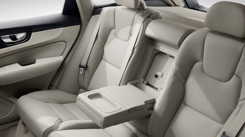 The 2020 Volvo XC60features room for 2 or 3 in back.