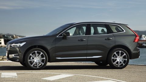 The 2020 Volvo XC60T6 features a supercharger and a turbocharger.
